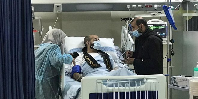 האסיר אל-אח'רס משיג חירותו ורצונו מנצח את הכיבוש הישראלי