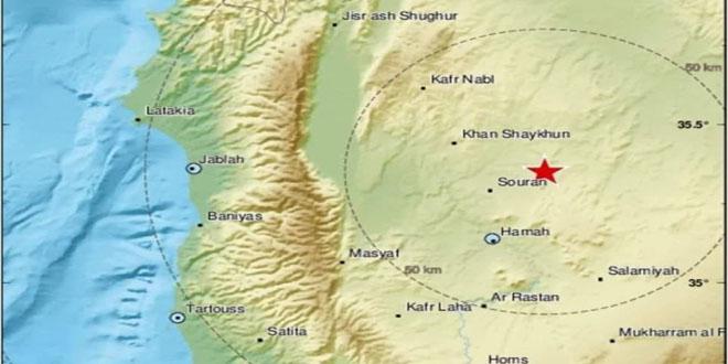 רעידת אדמה בעוצמת 4.1 בסולם ריכטר היכתה את צפון מזרח חמה