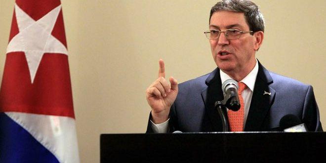 קובה הדגישה את תמיכתה בעם הפלסטיני