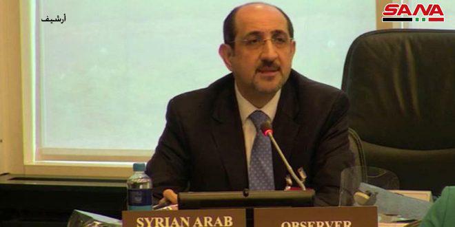 השגריר סבאע' הדגיש כי סוריה מלאה את כל ההתחייבות שלה