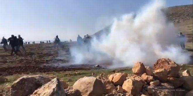 פציעת מספר פלסטינים במהלך פריצה ישראלית לצפון רמאללה