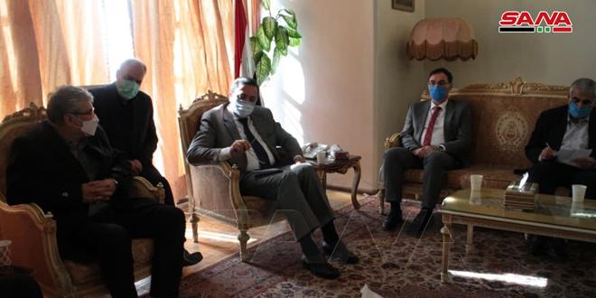 השגריר דיו'ב מדגיש את חשיבות היחסים האסטרטגיים בין סוריה לאיראן