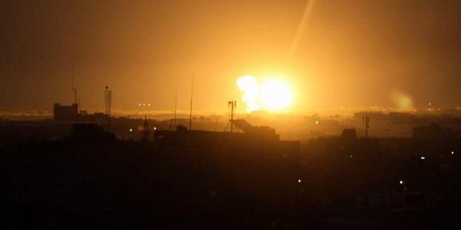 מטוסי המלחמה הישראליים תקפו ברצועת עזה