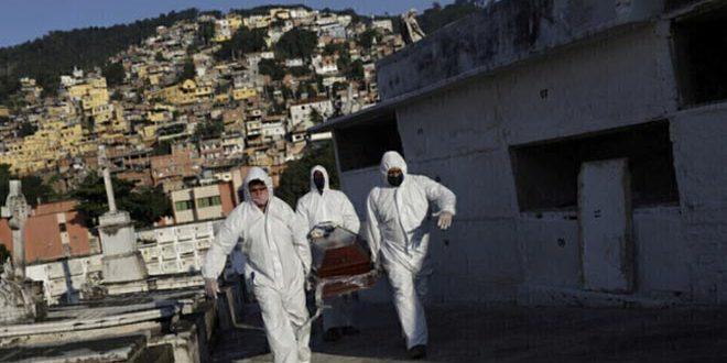 ברזיל: 62715 אלף בני אדם נדבקו בקורונה ביממה האחרונה