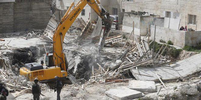 """האו""""ם קרא לכיבוש הישראלי להפסיק פעולות הריסת בתיהם של הפלסטינים"""