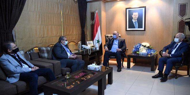 שיחות סוריות-ירדניות להאצת סחר החלפין ותנועת הטרנזית בין שתי הארצות