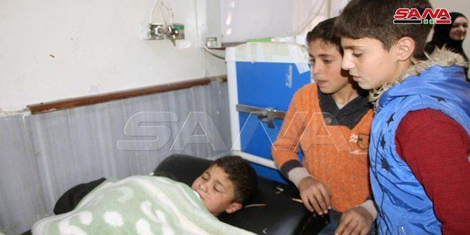 פציעת 3 ילדים בהתפצות מטען חומר נפץ בכניסה המזרחית של עיר דרעא