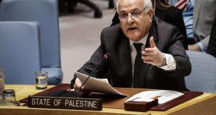 מנסור קורא להפסיק את התקפות הכיבוש נגד הפלסטינים והמקומות הקדושים שלהם