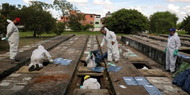 ברזיל: 4 אלפים חולי קורונה מתו ביממה האחרונה