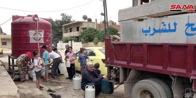 הכיבוש הטורקי ושכיריו ממשיכים למנוע מתושבי אל-חסכה לשתות מיים