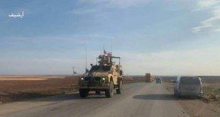 הכיבוש האמריקני מכניס 10 מובילים עמוסים רכבים צבאיים