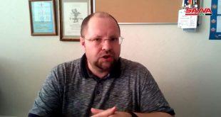 עיתונאי רוסי: מי מותח ביקורת על קיום הבחירות לנשיאות בסוריה אינו רוצה להתייצב בה