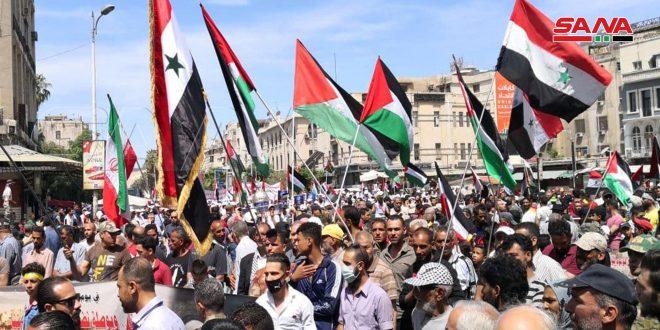 דמשק: השקת צעדה  לרגל יום אל-קודס העולמי