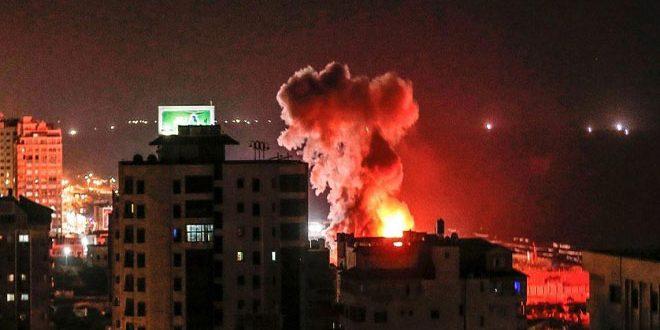 מטוסי המלחמה הישראליים תקפו מחדש ברצועת עזה