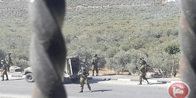 פציעת מספר פלסטינים במהלך פריצתם של כוחות הכיבוש למזרח בית לחם
