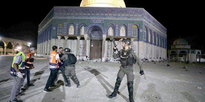אנשי הסברה איראנים גינו את התוקפנות הישראלית נגד הפלסטינים