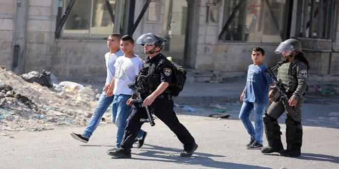 הכוחות הישראליים עצרו 2 צעירם פלסטינים מערבית לג'נין