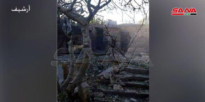 פציעת איש וילדה מהתקפת ארגוני הטרור הפרוסים באידלב
