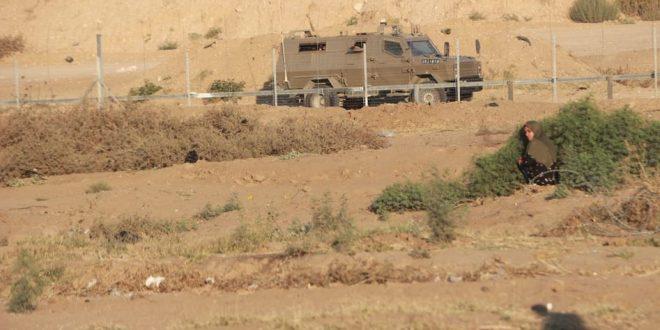 הכוחות הישראליים תקפו את החקלאים הפלסטינים בדרום רצועת עזה