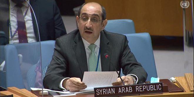 סבאע' : שיפור המצב האנושי בסוריה מחייב הסרת הצעדים השרירותיים המוטלים עליה והפסקת גזילת אוצרותיה