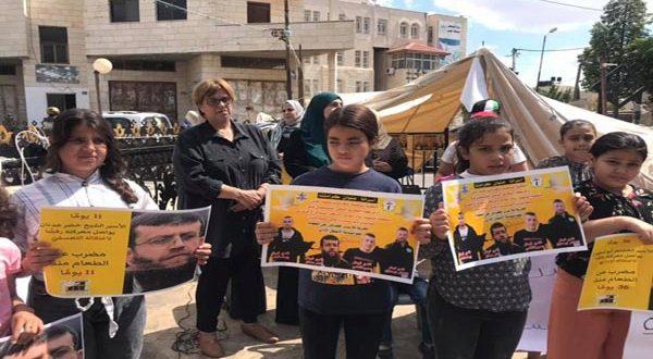7 אסירים פלסטינים ממשיכים בשביתת הרעב במחאה נגד פשעי הכיבוש