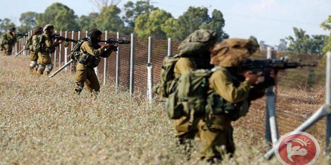 הכוחות הישראלים תקפו את החקלאים הפלסטינים דרומית לרצועת עזה