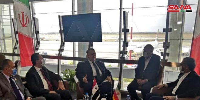 סבאע' ייצג את הנשיא אל-אסד בטקס ההשבעה לאימונים של נשיא איראן