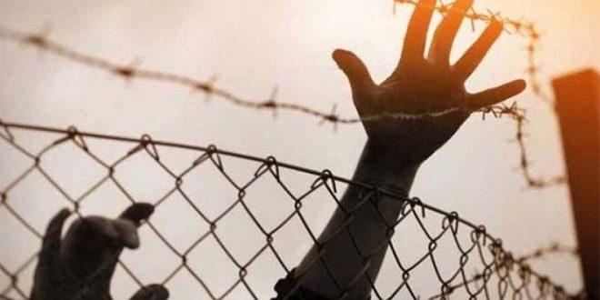 עצרת הזדהות עם האסירים הפלסטינים בעיירה דורה בחברון