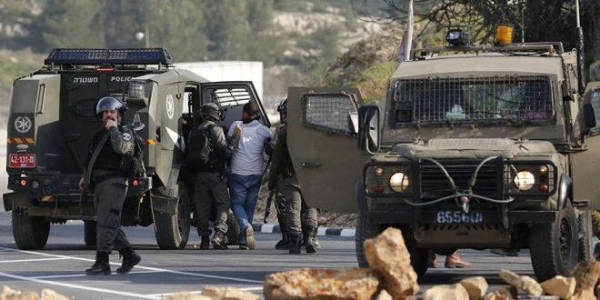 הכוחות הישראליים עצרו פלסטיני בעיר אלקודס