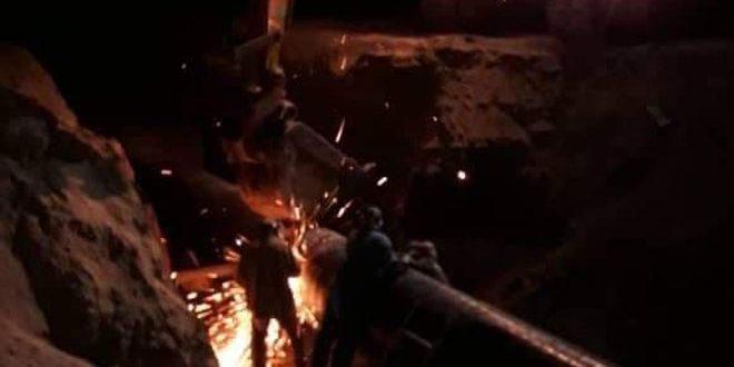 משרד הנפט: תוקנה הפגיעה בקו הגז הערבי