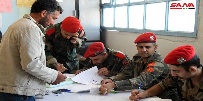 תהליך ישוב מעמדם של כמה מזוינים התחיל בכפר סחם אלג'ולאן