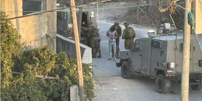 מספר פלסטינים נפצעו בהתקפה של כוחות הכיבוש בג'ינין
