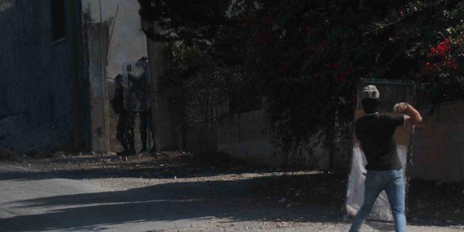 פלסטינים נפגעו במהלך דיכוי הפגנת כפר קדום