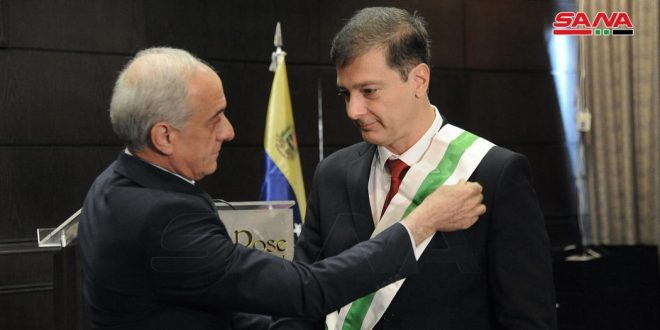 הענקת אות כשרות ממדרגה מצויינת לשגריר ווינצואלה