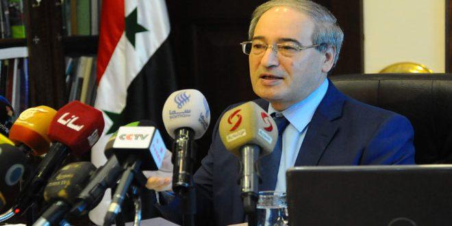 Аль-Мекдад: Сирия способна уничтожить террористов, когда Запад прекратит оказывать им поддержку