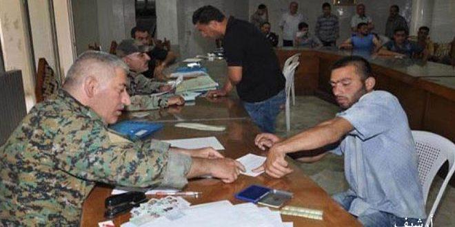В провинции Хомс урегулировано положение 135 граждан