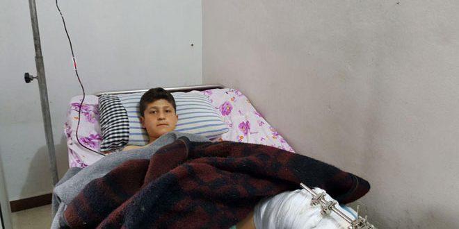 В результате агрессии турецкого режима в районе Африн погибла девочка и пострадали 8 других детей