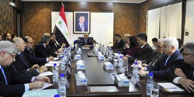 Хамис возглавил рабочее совещание в Министерстве культуры САР