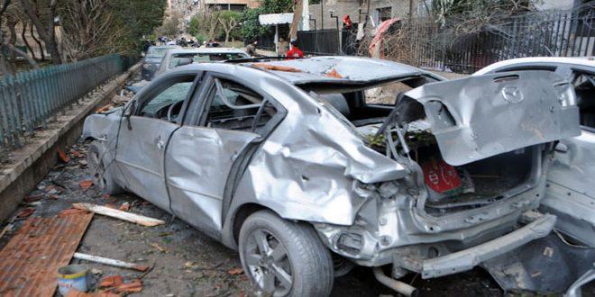 В Дамаске вновь рвутся мины и ракеты, есть жертвы и пострадавшие