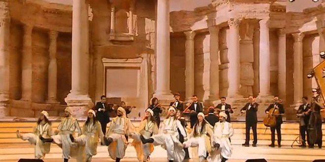 В Москве на концерте в честь 23 февраля выступил Сирийский национальный оркестр арабской музыки