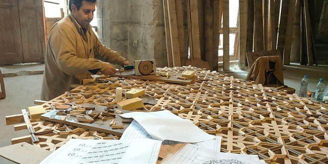 Ведутся работы по реставрации Большой мечети Омеядов в Алеппо