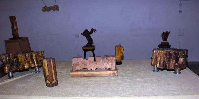 В Алеппо открылась выставка скульптора Абдель-Кадера Манафиха