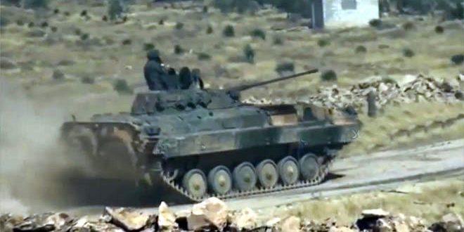 Сирийская армия и ее союзники предотвратили нападение «Джебхат Ан-Нусры» в провинции Кунейтра