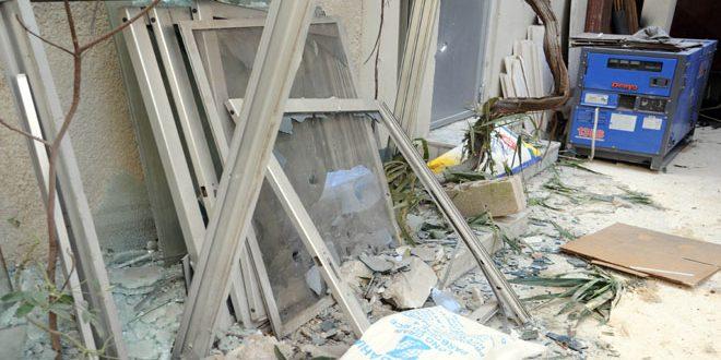 Боевики обстреляли центр Дамаска