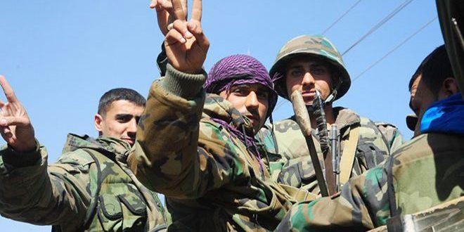 Сводка контртеррористических операций Сирийской армии за 11 марта