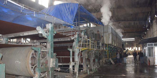 В Алеппо промышленные объекты возвращаются в строй
