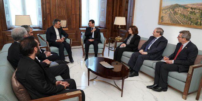Президент САР Башшар Аль-Асад: Сирийский народ единственный, кто принимает решения, связанные с будущим его страны