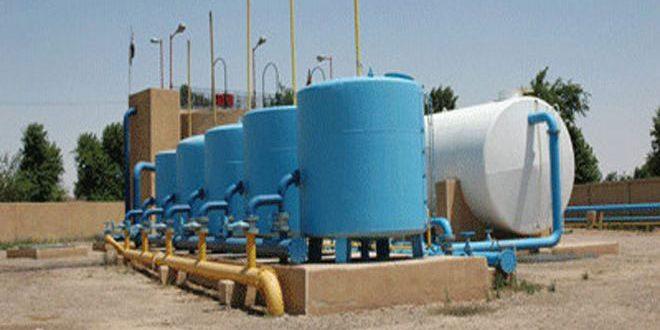 В городе Дейр-эз-Зор введены в эксплуатацию две водонасосные станции