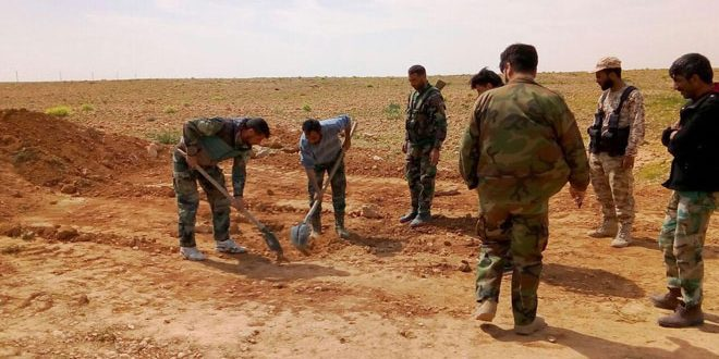 В провинции Хама обнаружены два массовых захоронения жертв террористов