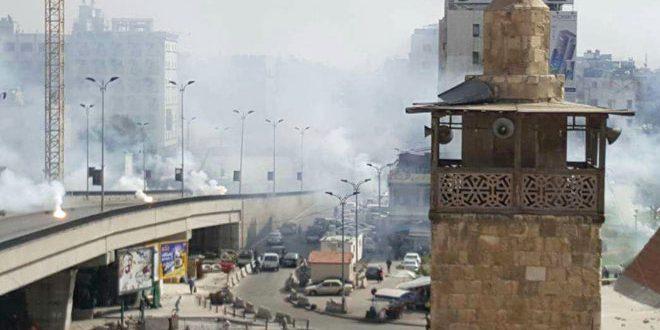 При обстреле террористами Дамаска погибли и пострадали 18 человек